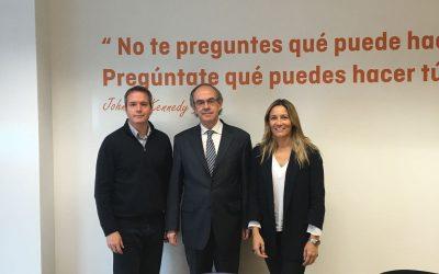 ASALMA se reúne con los portavoces de Economía y Empleo de Ciudadanos en la Asamblea de Madrid, Dª. Susana Solis y D. Enrique Veloso
