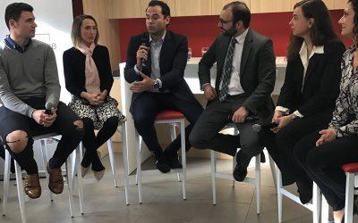 Con la presencia de Ignacio Aguado, vicepresidente del Gobierno de la Comunidad de Madrid, E-Social Hub ha iniciado su actividad