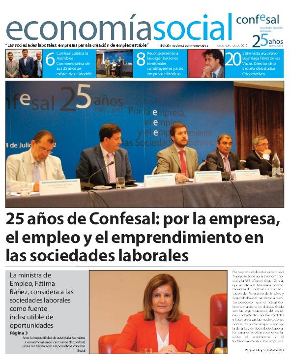 Periódico 25 Aniversario de CONFESAL