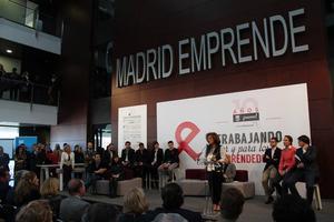 Décimo aniversario de «Madrid Emprende»