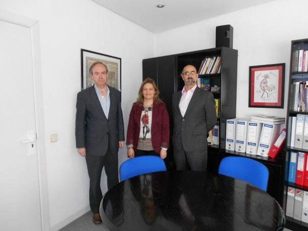 El gerente de ASALMA se reune con los responsables de los programas de apoyo a la Economía Social del Ayuntamiento de Madrid Dª. Carmen Pérez y D. Bernardino Sanz