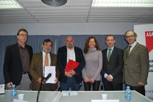 CCOO, UGT Y ASALMA firman un convenio de colaboración