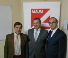 La junta directiva de ASALMA se reunió con Antonio Carmona
