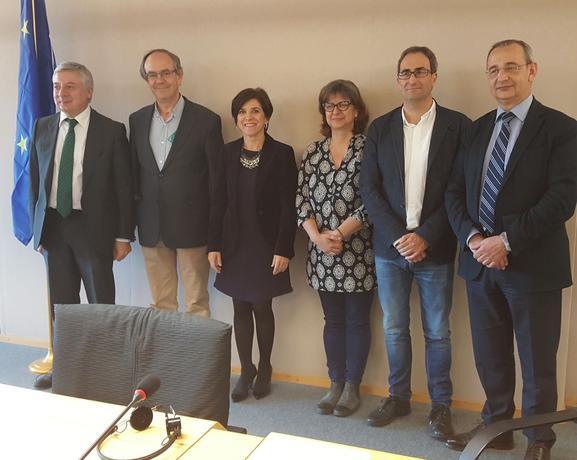 CONFESAL y ASALMA se reúnen con europarlamentarios para impulsar en la UE las sociedades laborales y participadas