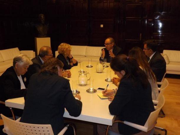 ASALMA se reune con la Alcaldesa de Madrid Dª. Manuela Carmena