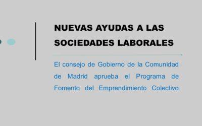 Nuevas Ayudas a las Sociedades Laborales