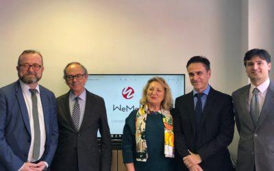 El Alto Comisionado para la Economía Social y Solidaria del Gobierno de Francia, junto a la Directora General de Economía Social del Gobierno de España, visitan la Sociedad Laboral WEMOB.