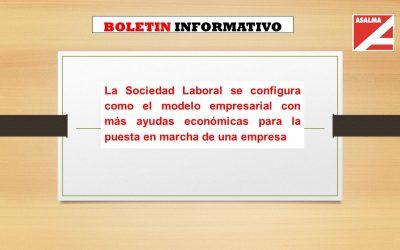 La Sociedad Laboral se configura como el modelo empresarial con más ayudas económicas para la puesta en marcha de una empresa