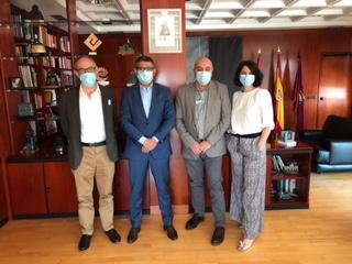 Reunión de ASALMA con el Alcalde de Alcobendas